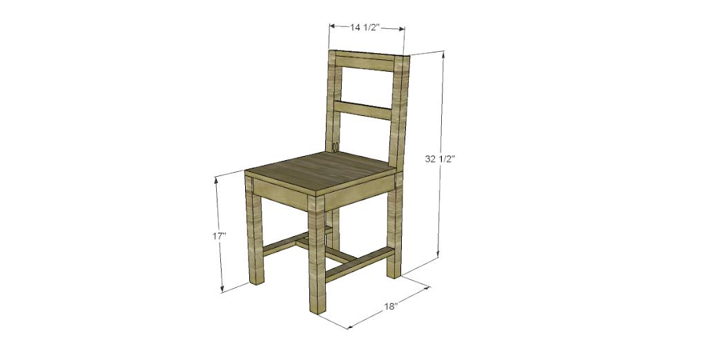 simple desk chair
