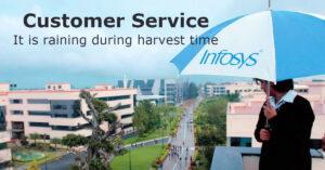 Customer service: Infosys
