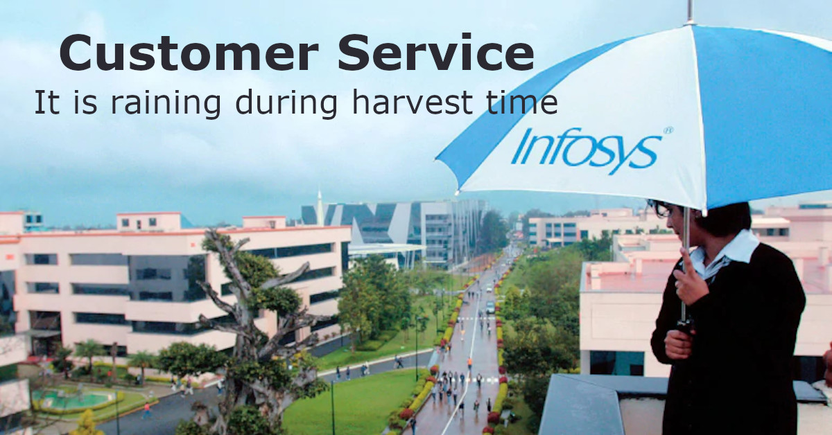 Customer service: Infosys